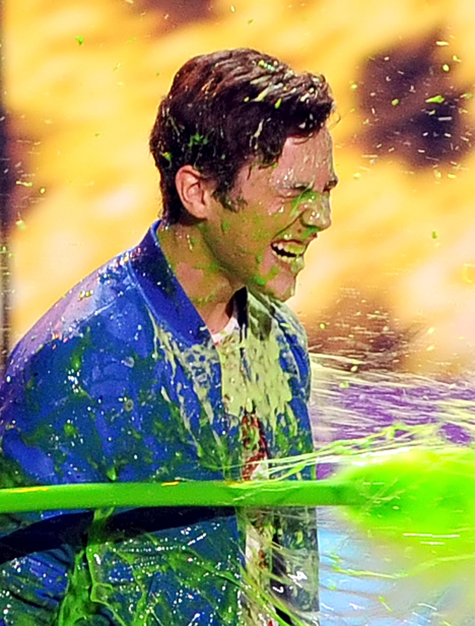 It's Slime Time! See All the Stars Covered in Green Goo