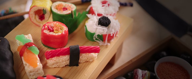 No, Your Eyes Aren't Deceiving You — This Sushi Is Made With Candy