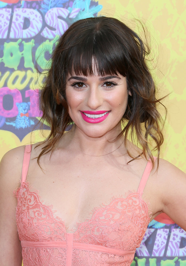 Lea Michele at the Kids' Choice Awards