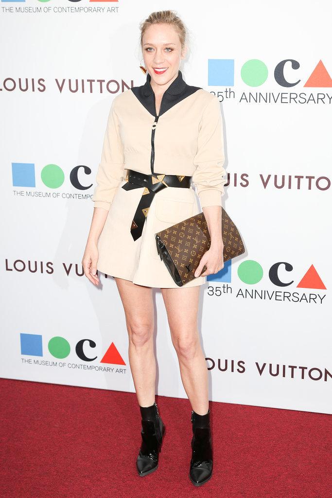 Chloë Sevigny at MOCA's 35th Anniversary Gala