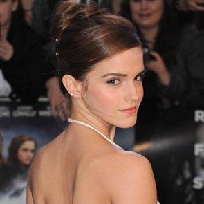 Emma Watson Hair at Noah UK Premiere 2014