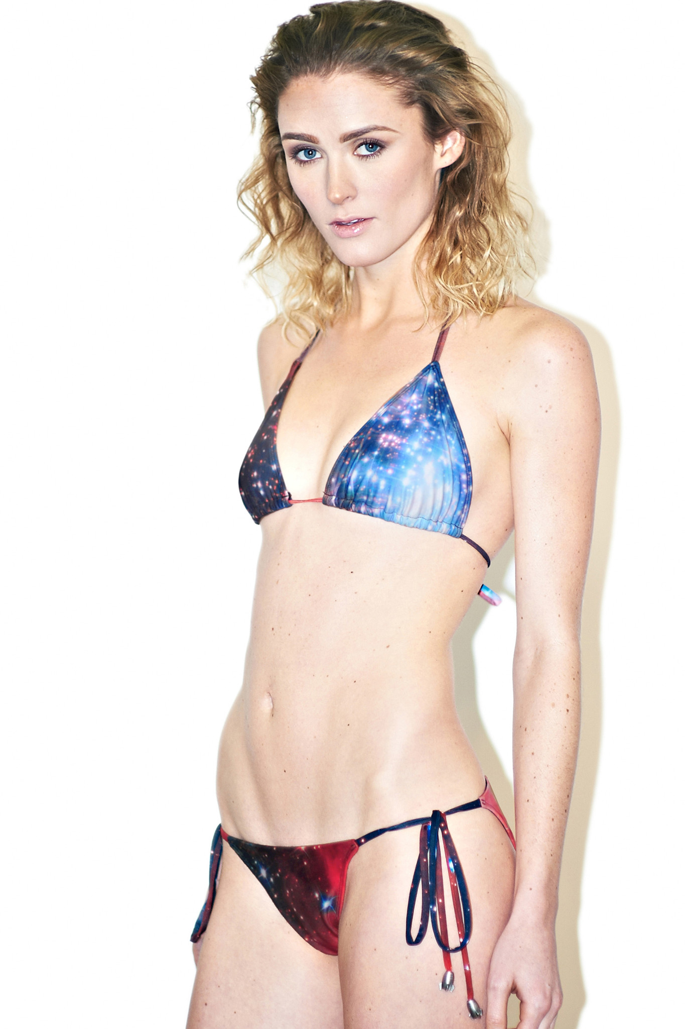 Crimson Galaxy Bikini ($58 each piece)