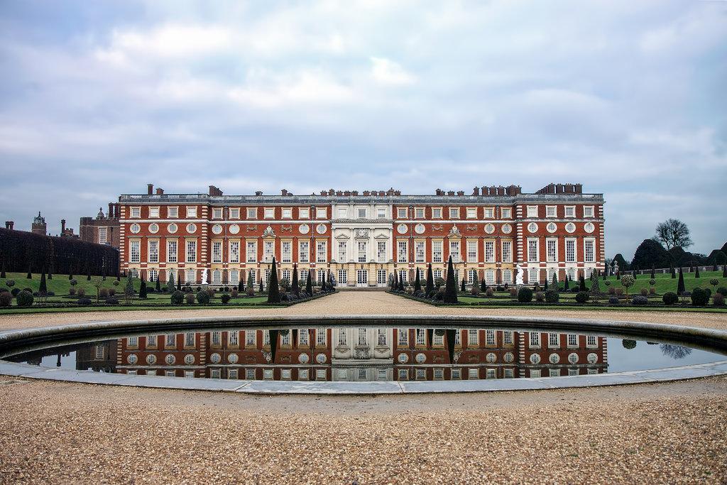 Hampton Court Palace, Surrey, England