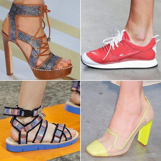 Spring Shoe Trends 2014