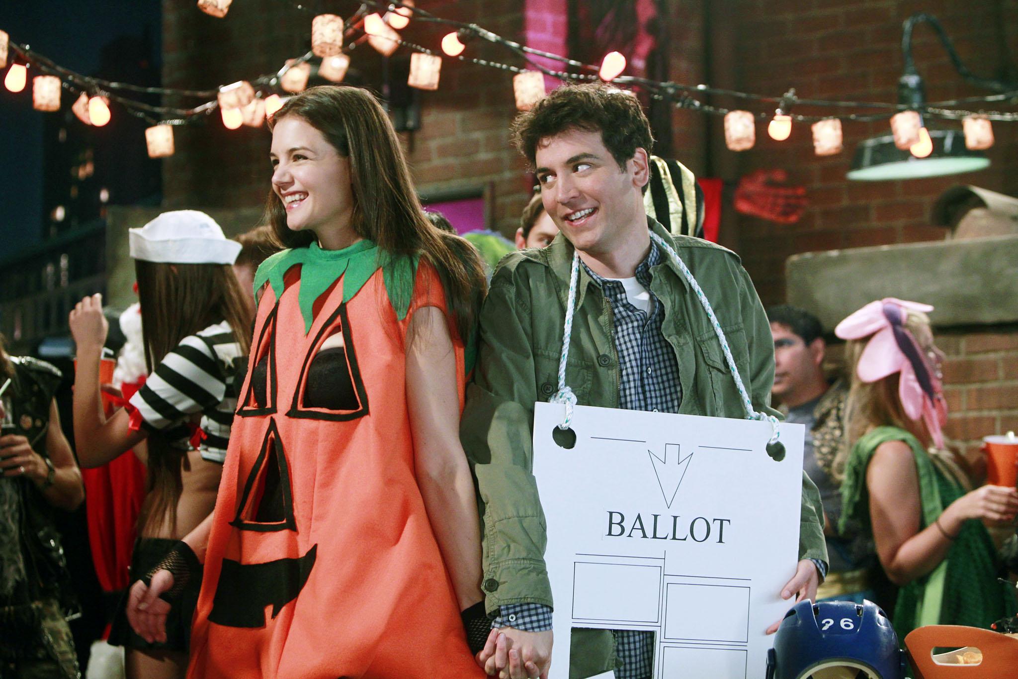The Hanging Chad Costume/Slutty Pumpkin Flashback