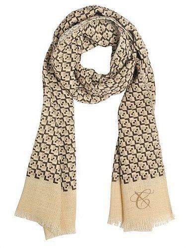 Canali - Geometric Print Wool Scarf