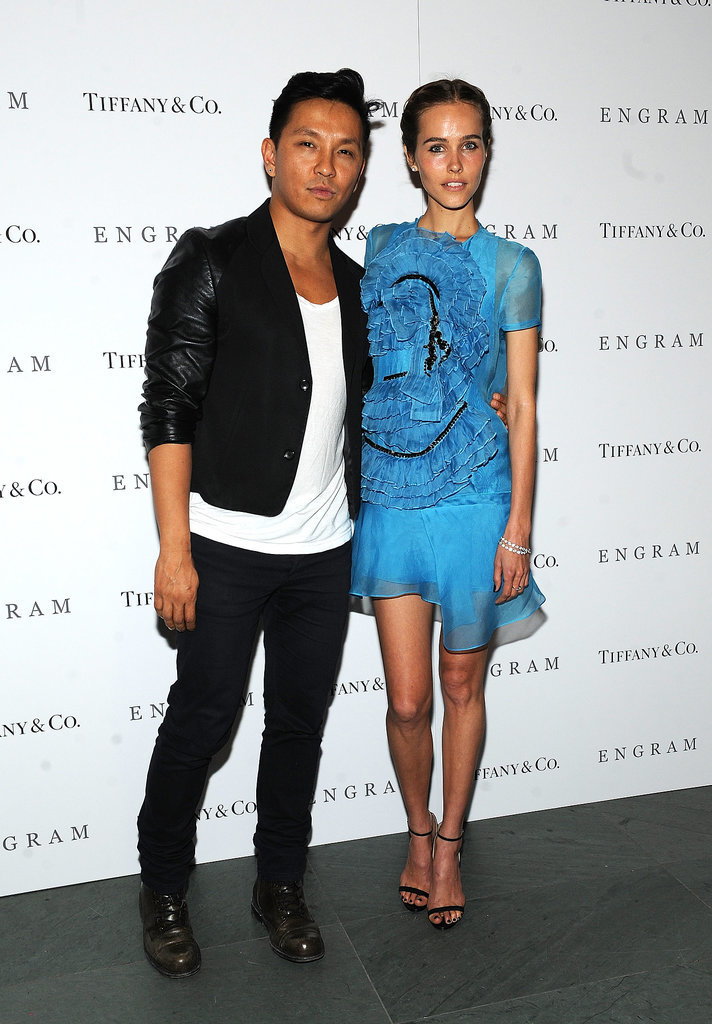 Prabal Gurung and Isabel Lucas