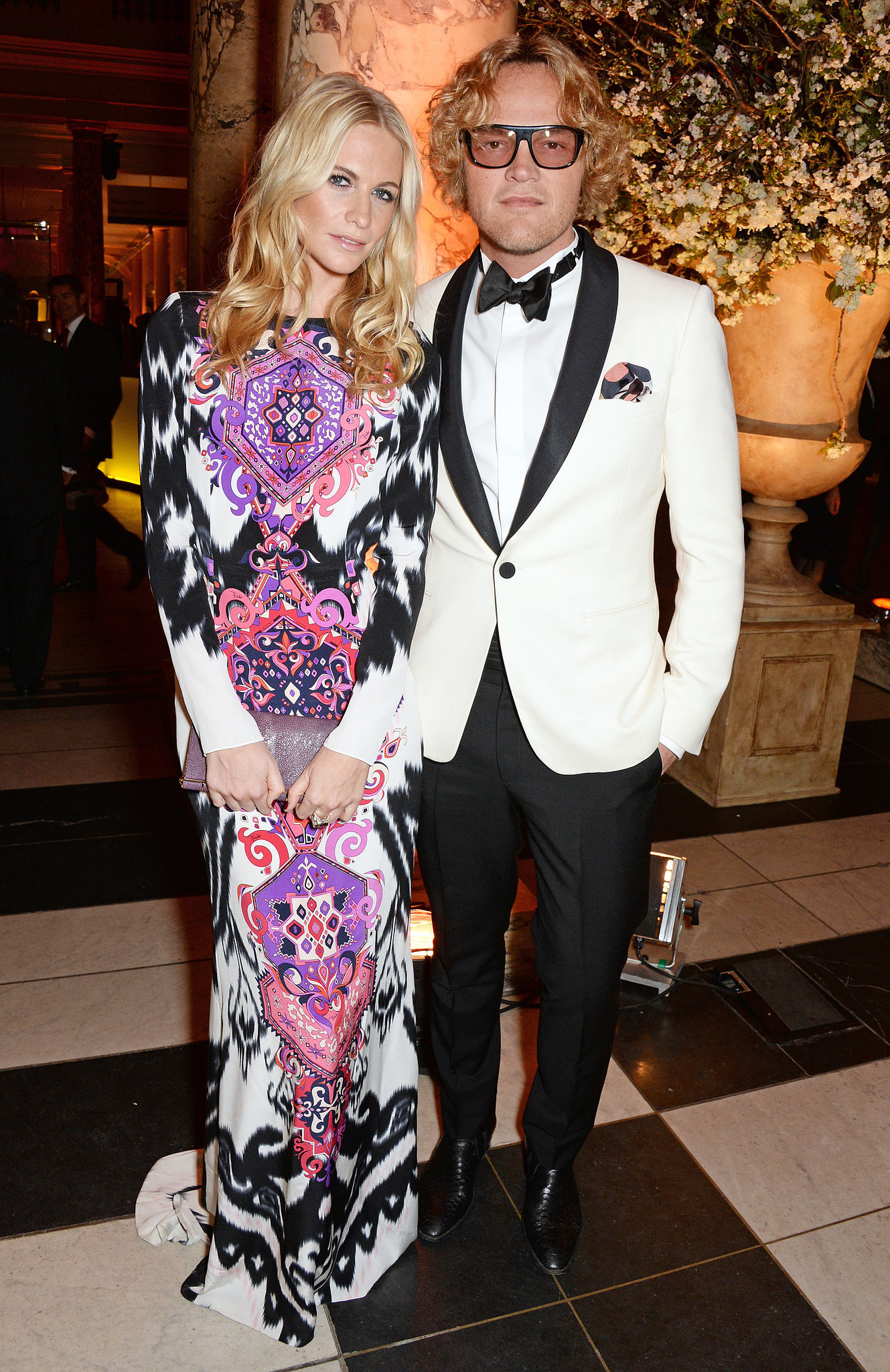 Poppy Delevingne and Peter Dundas