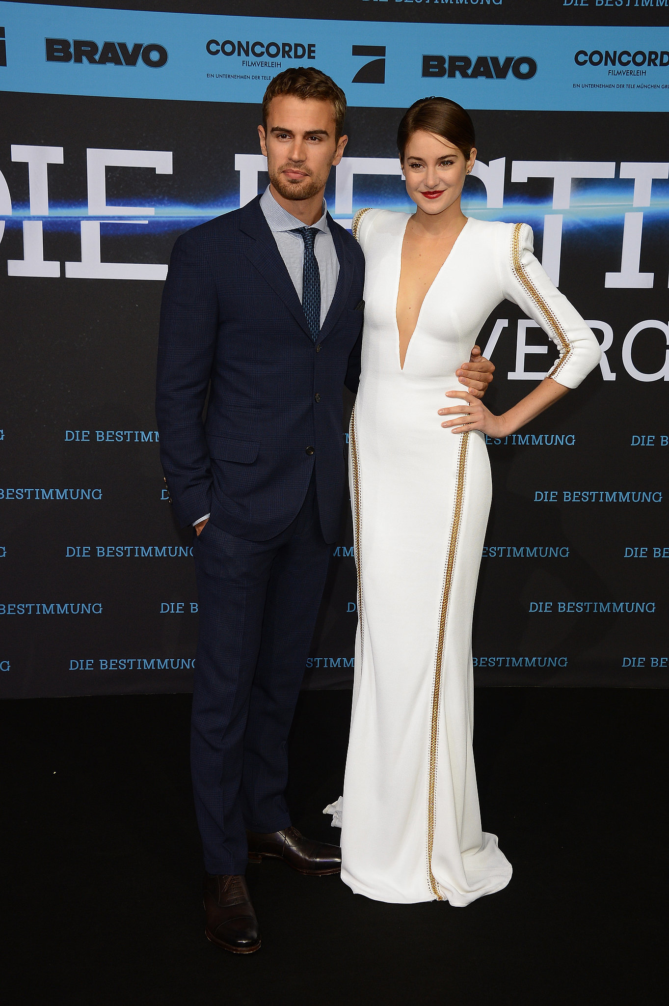 On Tuesday, Shailene Woodley and Theo James premiered ...