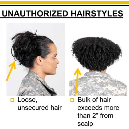 Women With Natural Hair Petition Army Regulation 670-1