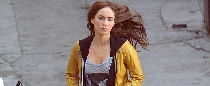 Cowabunga! New Mom Megan Fox Is Ready For Her Close-Up