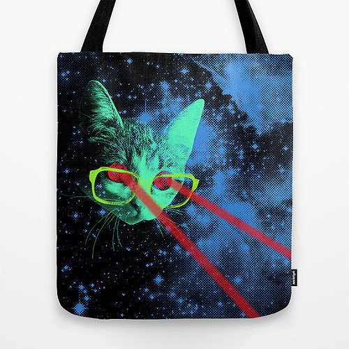 Space Kitteh Tote