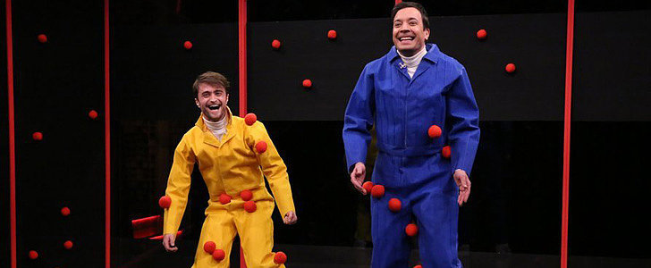 Daniel Radcliffe Plays a Rousing Game of Sticky Balls With Jimmy Fallon