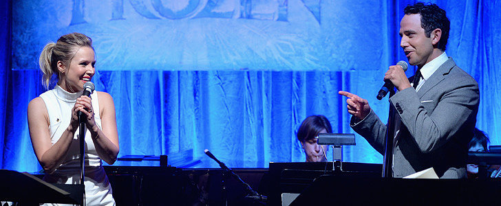 Kristen Bell's Live Frozen Duet Will Melt Your Heart
