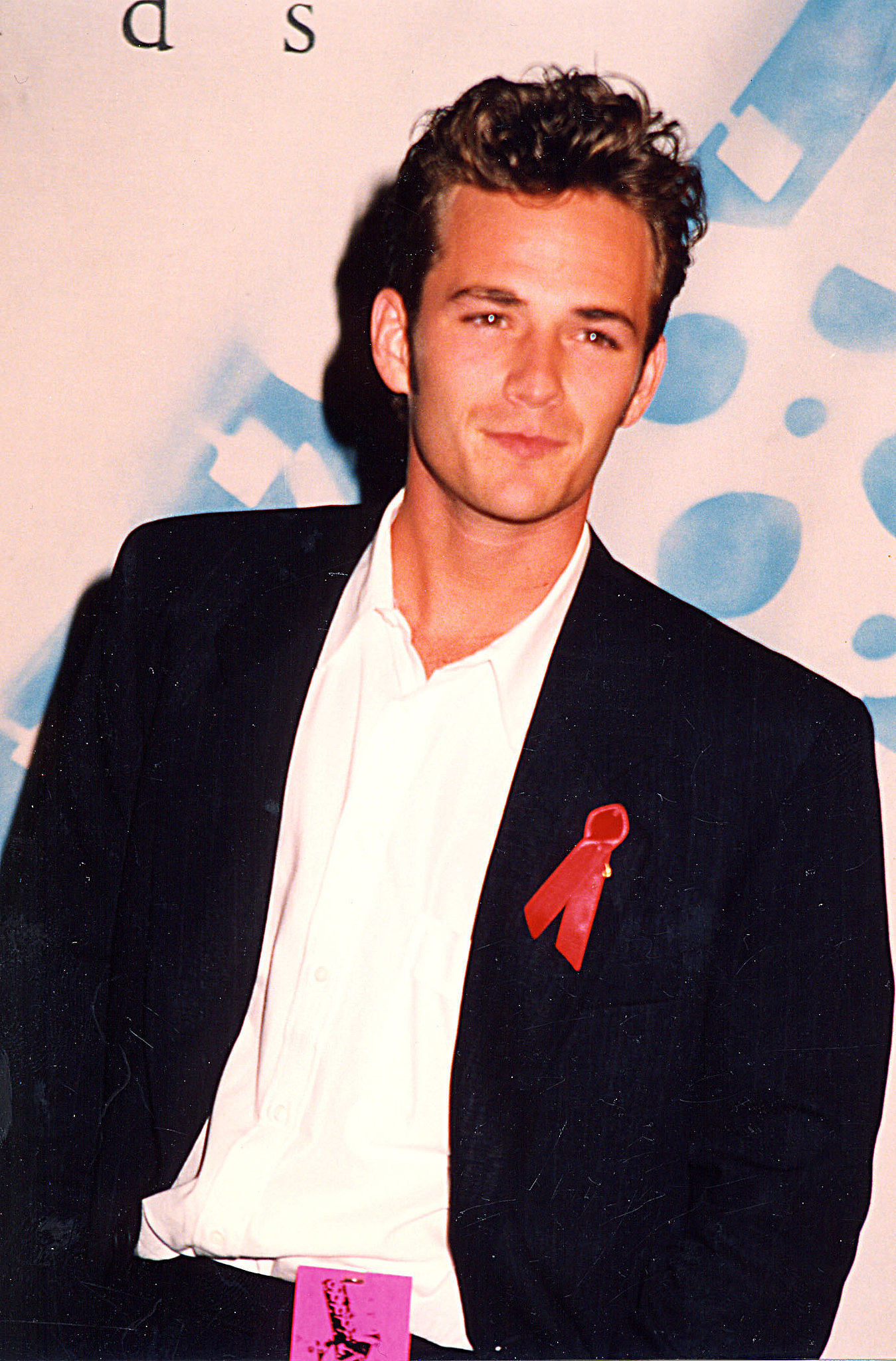 Luke Perry smoldered. The Most '90s