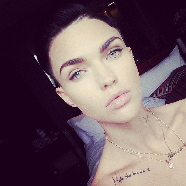 Ruby rose fashion week essential beauty products for Tv show with tattooed woman