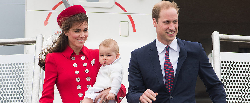 Watch Kate and George's Windy — and Wiggly — Royal Tour Arrival!