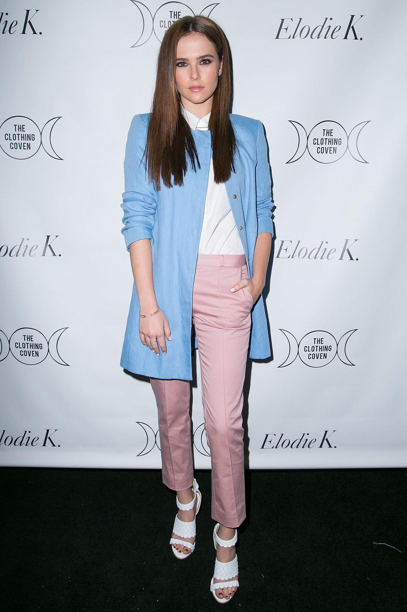 Zoey Deutch style
