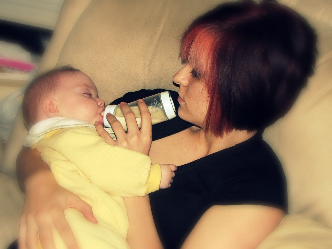 Mommy Can Still Bond With Baby