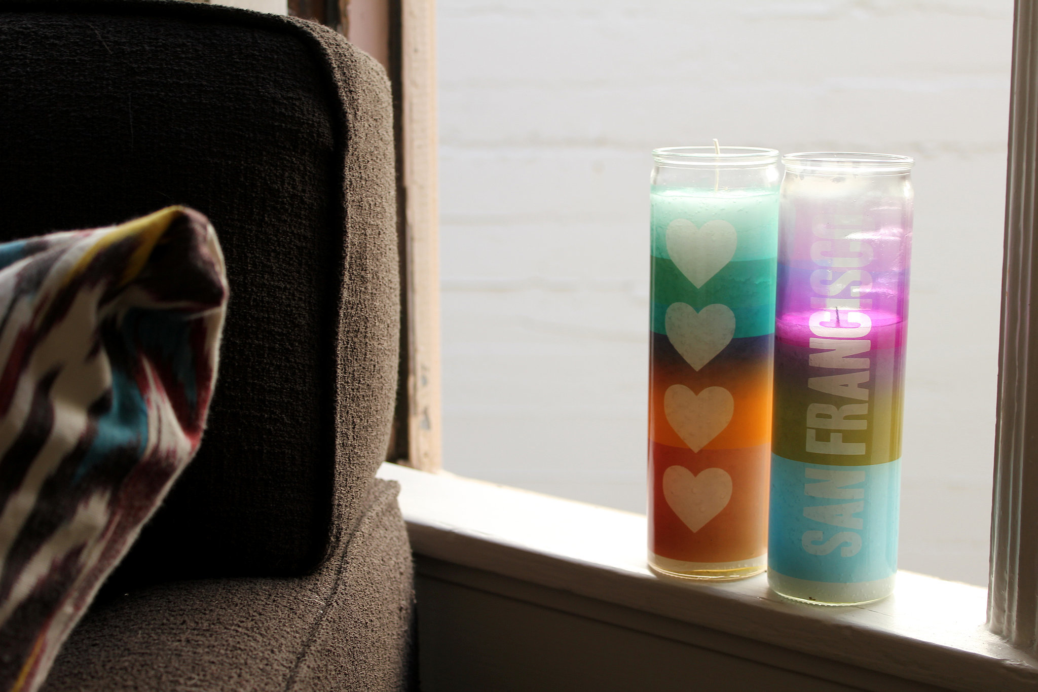 Fun candles are also a must.