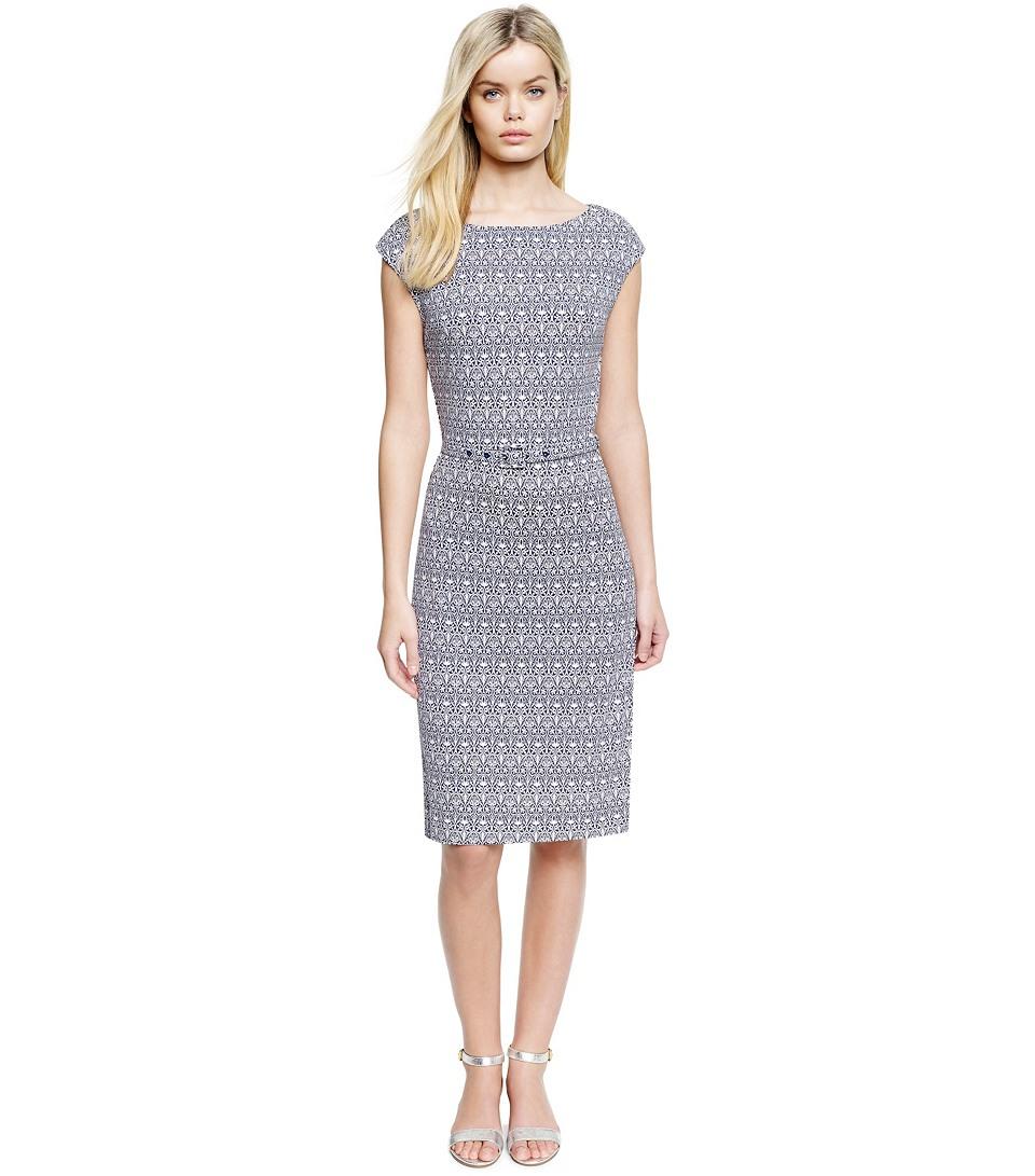Tory Burch black-and-white printed Jamie dress ($395)