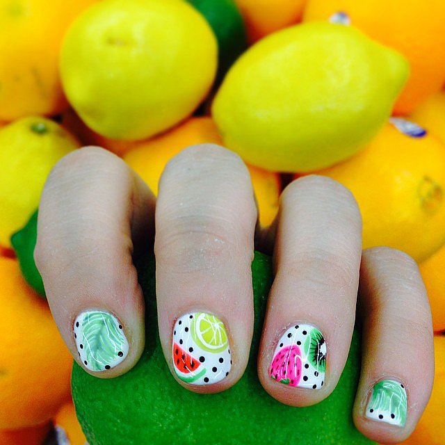 Tutti Frutti Nails: 50+ Nail Art Ideas To Inspire Your Spring