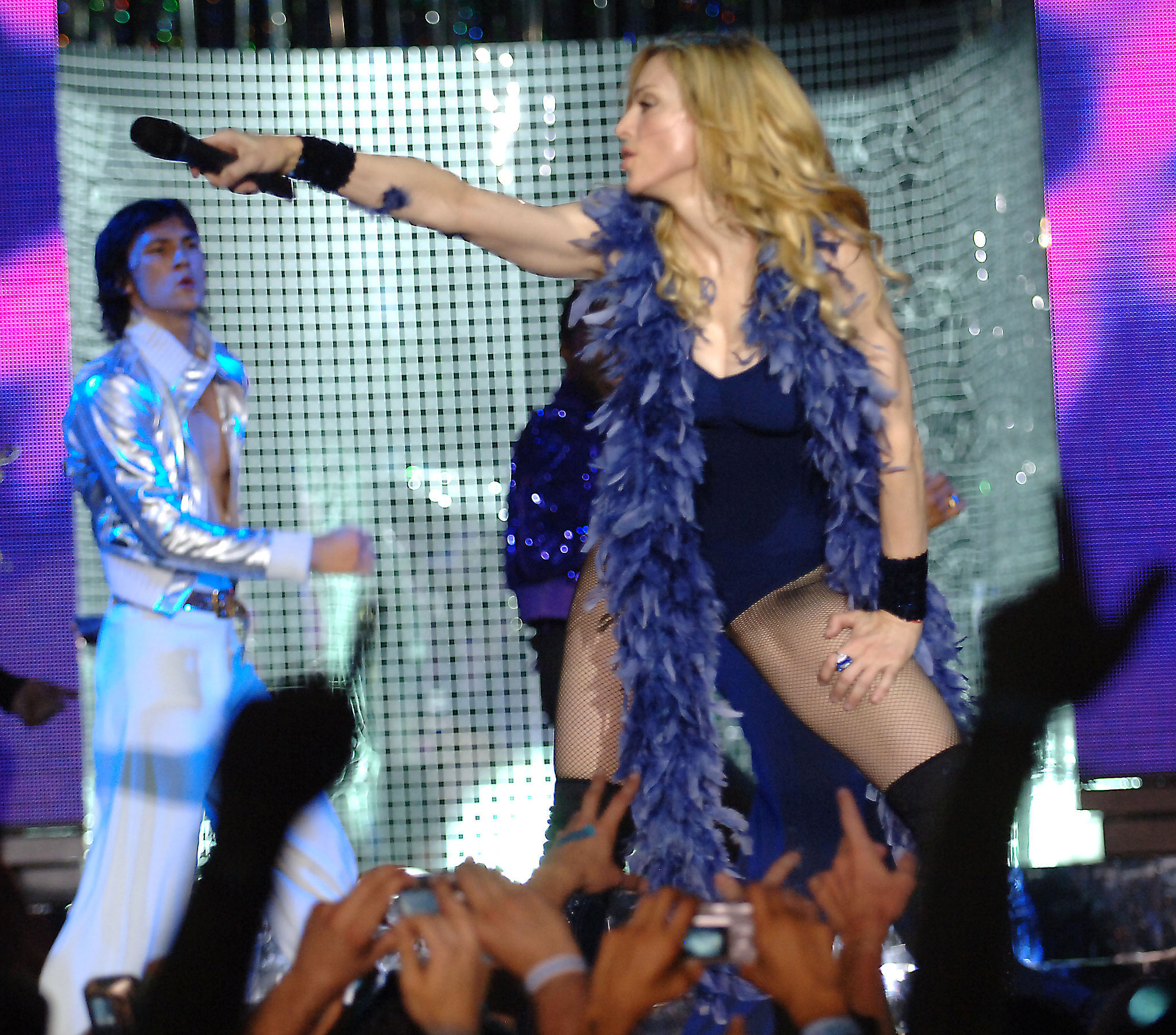Madonna was one of the 2006 acts.