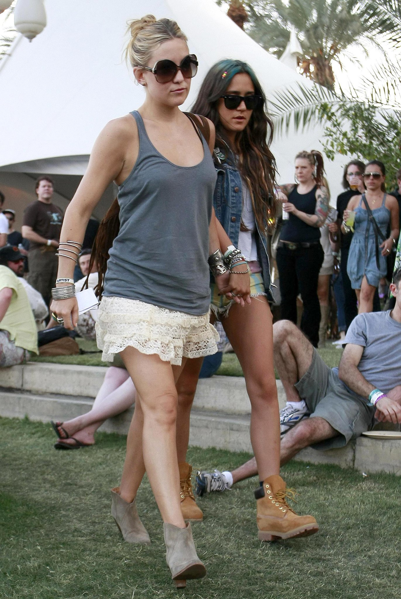 Kate Hudson popped up at the 2010 Coachella Music Festival.