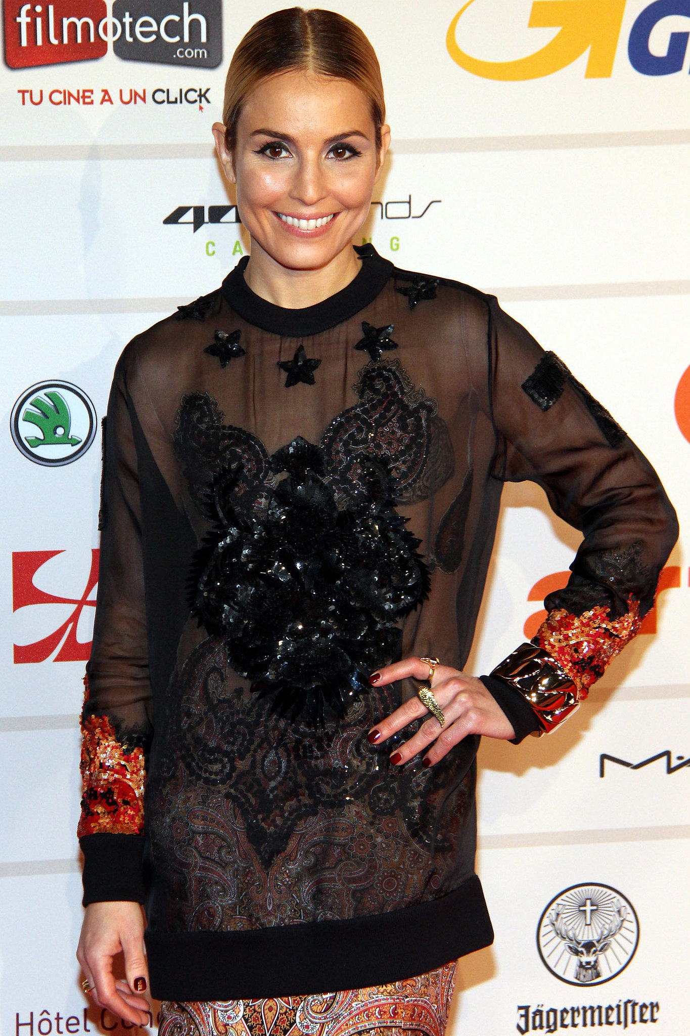 Noomi Rapace will star in Unlocked, a terrorism thriller in which she'll play a CIA agent.