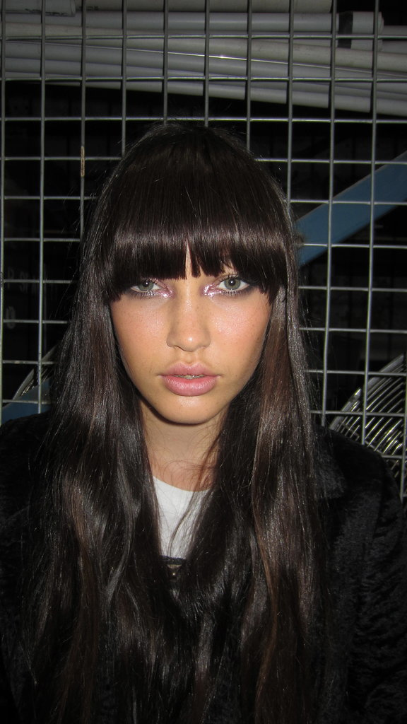 The Alice McCall Girl's Hair and Makeup is a Marriage of Glitter and Grunge