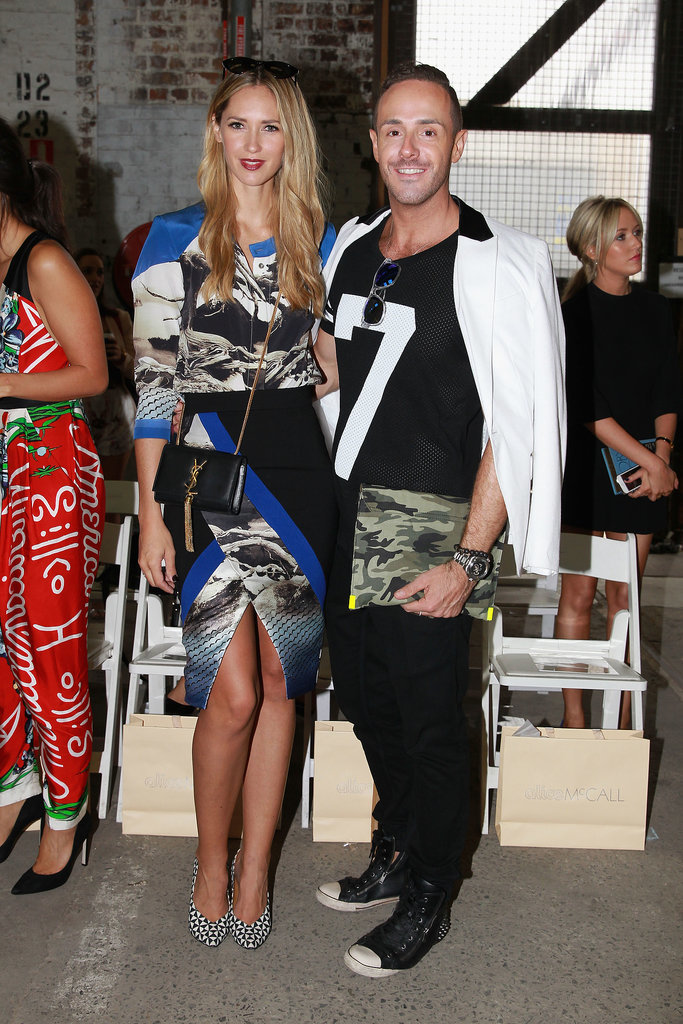 Nikki Phillips and Donny Galella at MBFWA Day Five