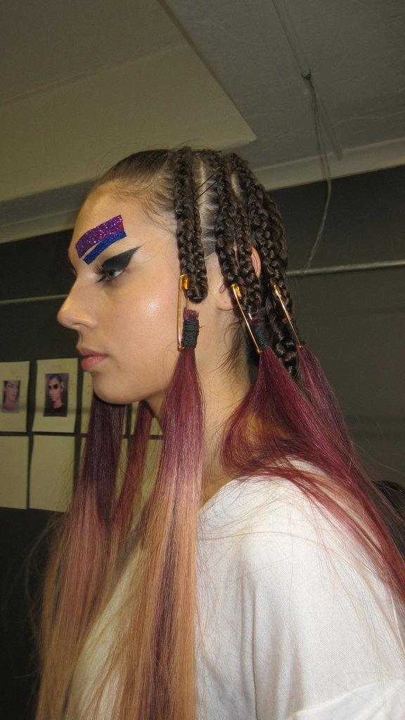 It's Cornrows, Graphic Liner and Glitter Brows For the Brand That's Dressed Katy Perry and Miley Cyrus