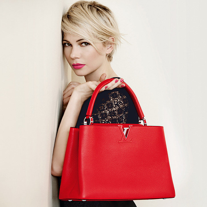 Michelle Williams Couldn't Stay Away From Louis Vuitton's Bags