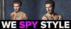 We Spy: David Beckham Strips Down (AGAIN!) For H&M