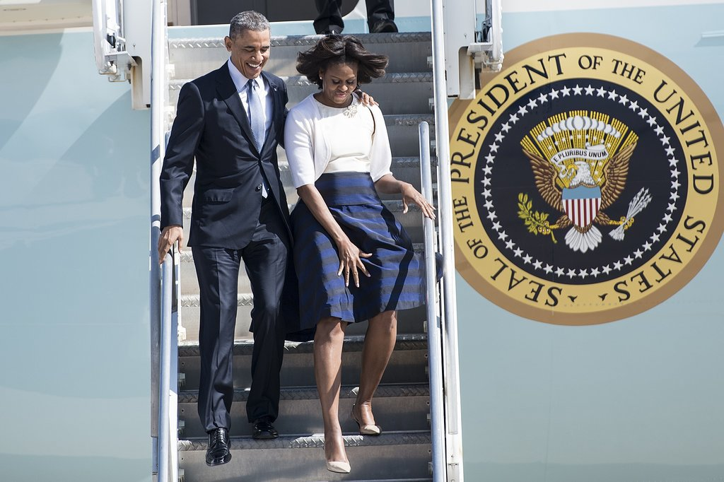 The Obamas Are on the Move to Mark History