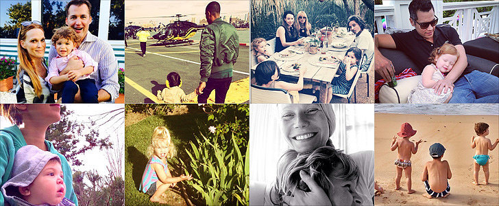 Gwyneth, Hilary, Jessica, and More: Celeb Parents Took the Cutest Photos This Week!