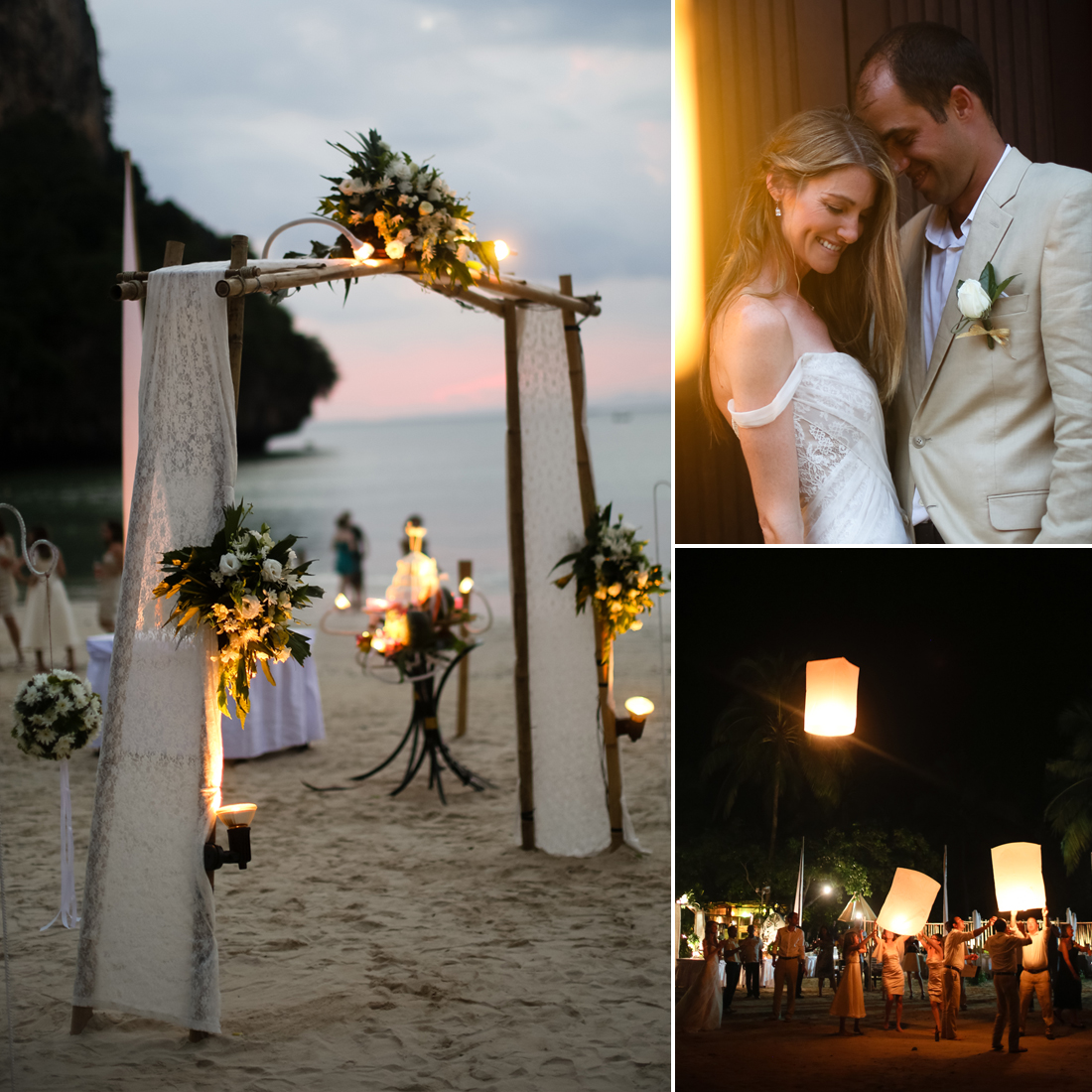 """Do you have any advice for other brides planning a destination wedding? """"Weddings in general can be stressful to plan, no matter if it is close to home or halfway around the world. We thought a destination wedding would be stress-free, but I don't think that there is such a thing. We wouldn't change our decision for the world, though!   """"We recommend designing the invitations to include as much information as possible. The invitations should both excite and prepare your guests for a destination wedding abroad. The more information you can include, the better. If guests understand that it is more than just a wedding and will be a travel experience, the more comfortable and excited they will be with the journey. We also set up a wedding website, which contained additional information for guests (trip planning information, accommodation, etc.). """"We also planned a series of events before the wedding, which not only gave us the opportunity to show off some of our favorite sites but also gave our guests the chance to get to know each other before the big day. By the time the wedding day arrived, all of our guests were comfortable with one another, having experienced so much together."""" Source: Melissa McClure Photography"""