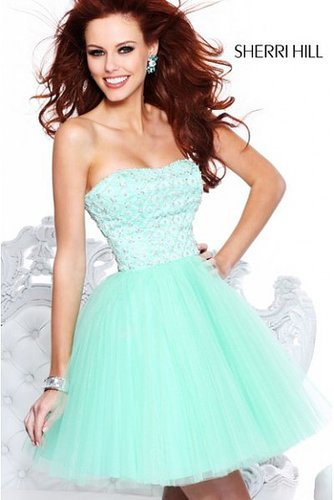 2014 Sherri Hill 21153 Dazzling Diamond Party Dress
