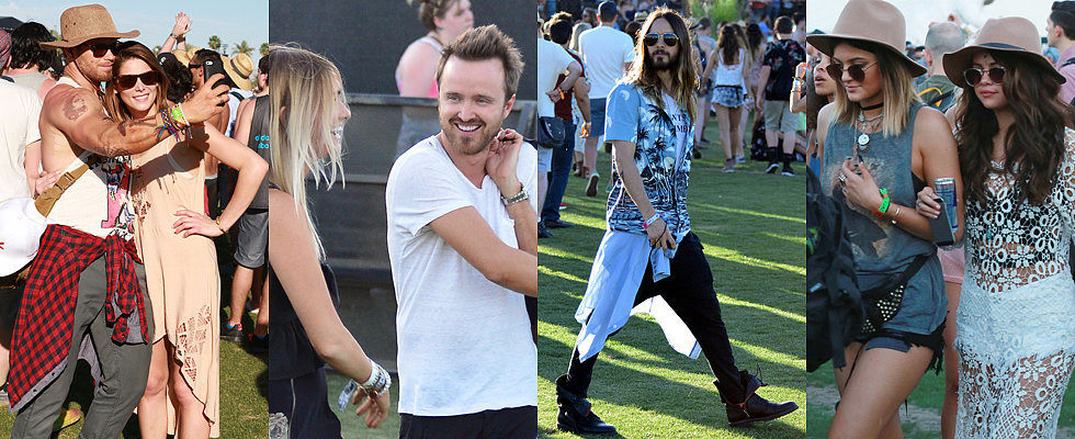 Stars Descend Upon Coachella Valley For Music Festival Fun