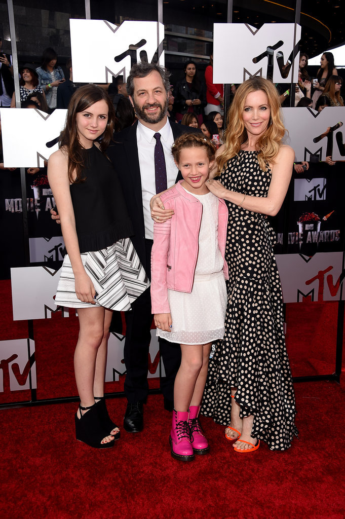 Leslie Mann daughters