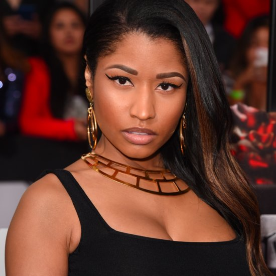 Nicki Minaj Hair and Makeup at MTV Movie Awards 2014