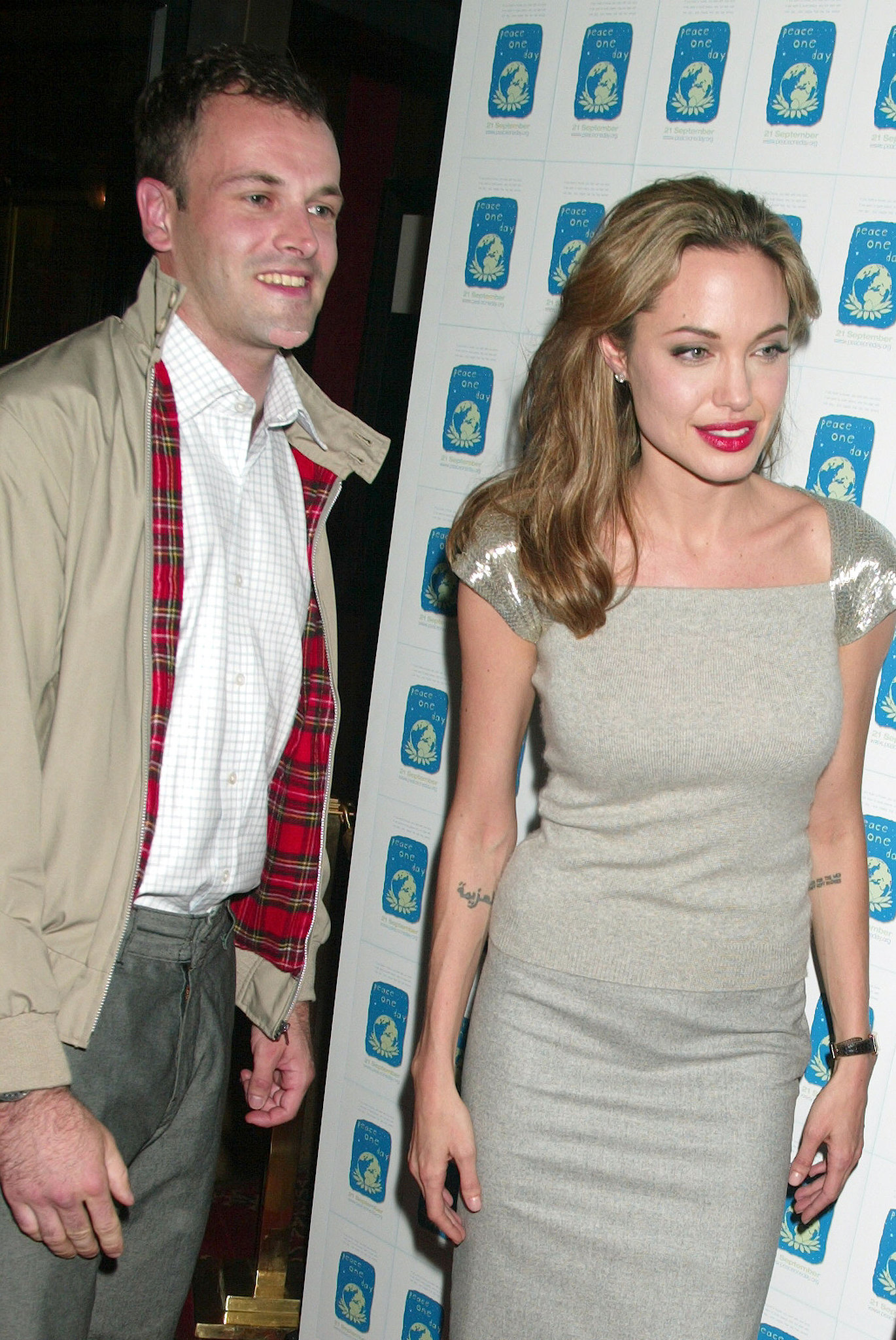 Jonny Lee Miller couple