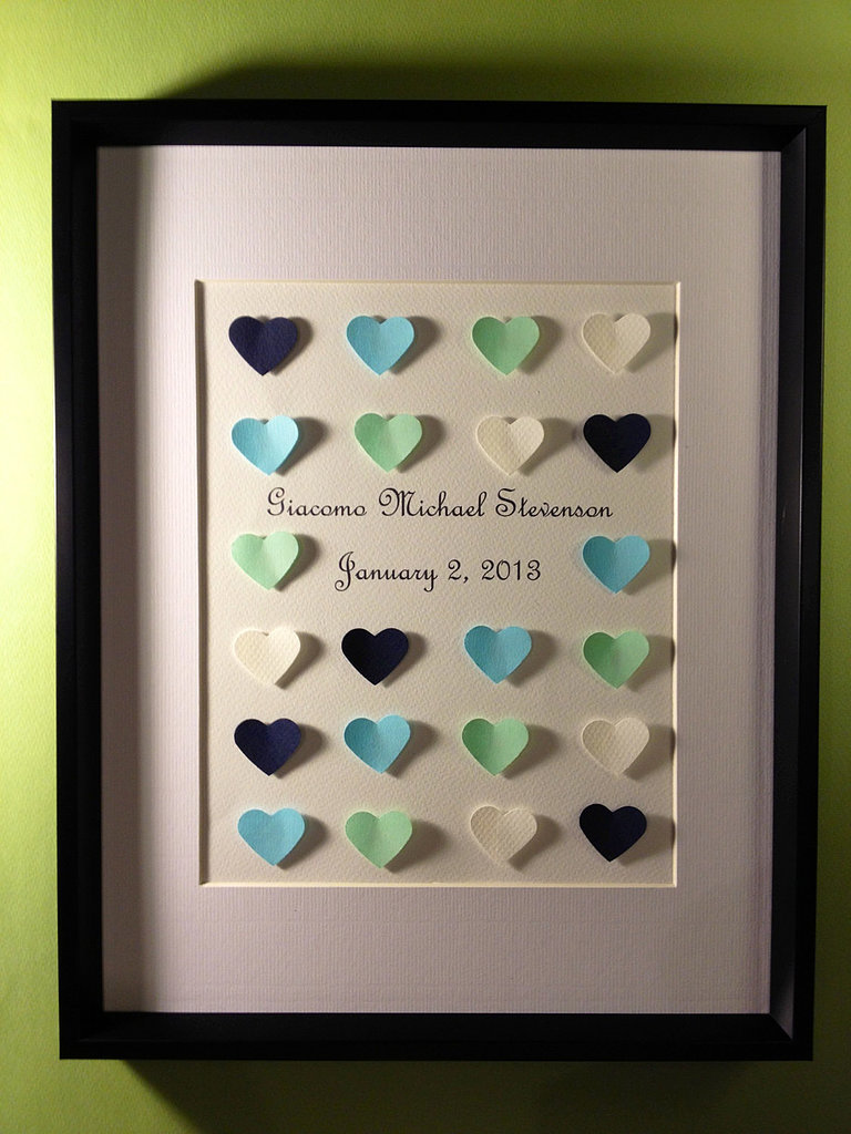 Personalized 3D Heart Collage