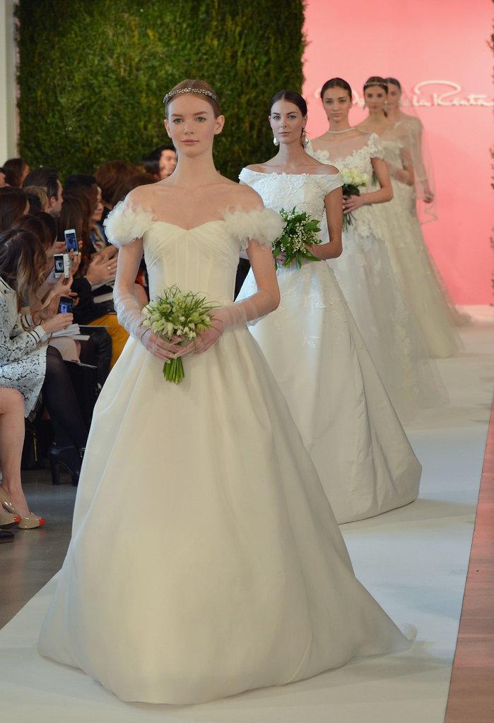 Oscar de la Renta Bridal Spring 2015