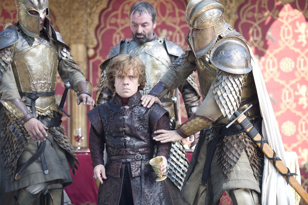 Once Joffrey is dead, Cersei points the finger at Tyrion.