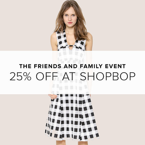 Shopbop Friends and Family Sale | 2014