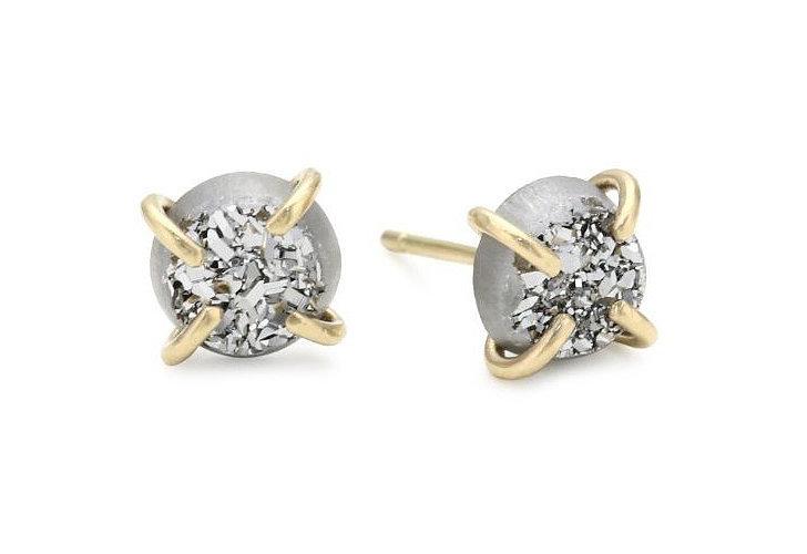 Melissa Joy Manning Druzy Earrings