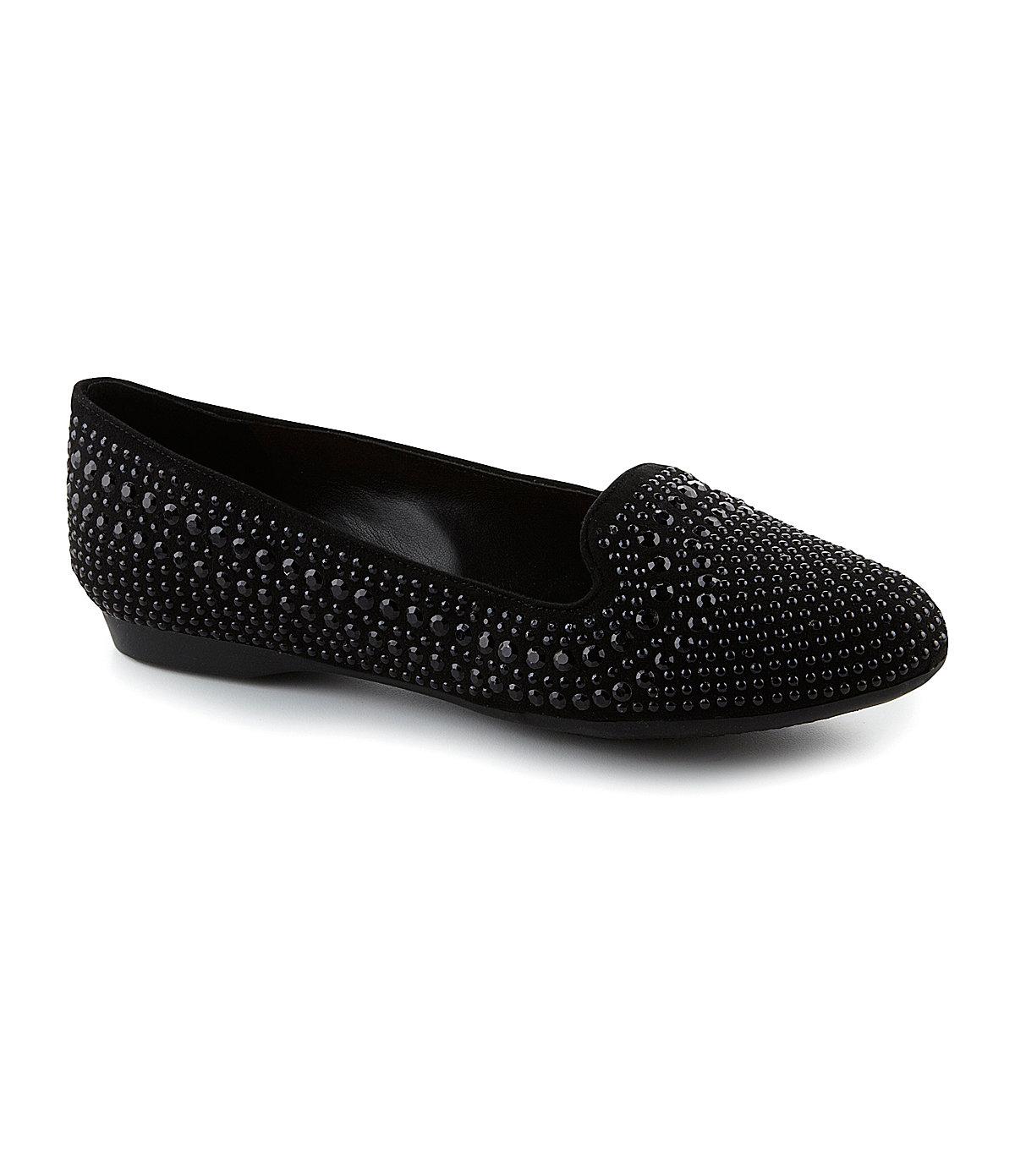 Gianni Bini Richee Smoking Slippers ($80)