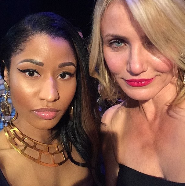 Nicki Minaj and Cameron Diaz