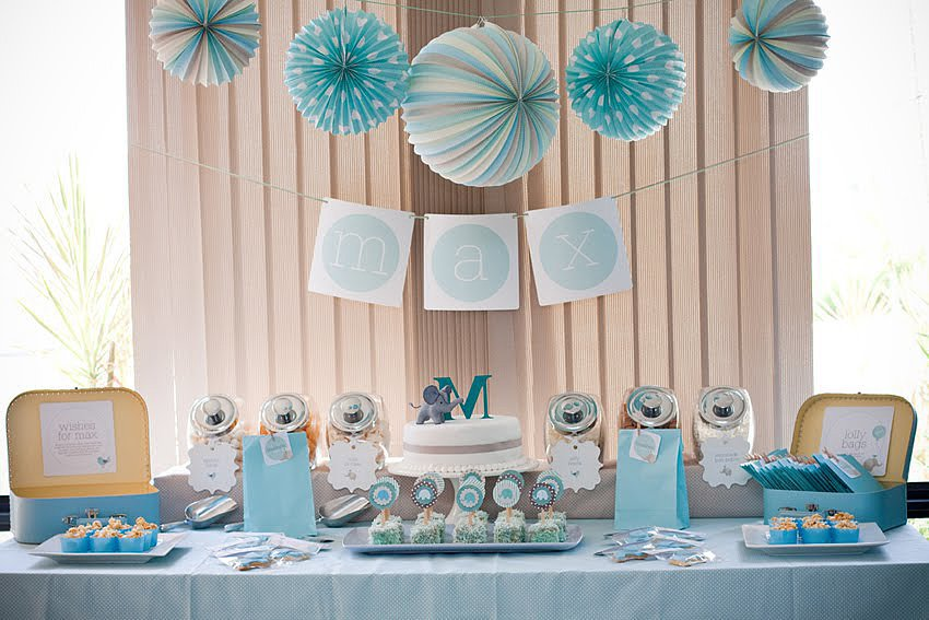 Elephant Baby Shower For Boy Baby Interior Design